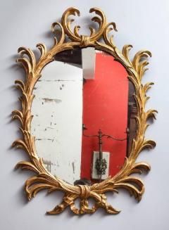 Fine 18th Century English Giltwood Oval Mirror - 645275