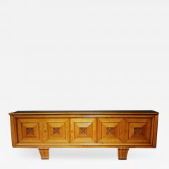 Fine 1930s French Art Deco fruitwood sideboard - 1864133