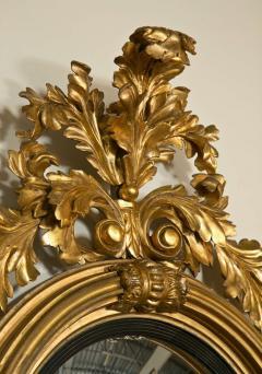 Fine American or English Regency Bulls Eye Mirror - 72998
