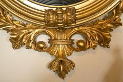 Fine American or English Regency Bulls Eye Mirror - 73005