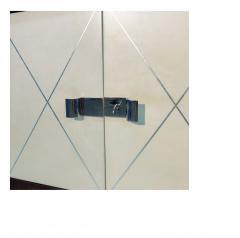 Fine Art Deco Cabinet Palisander Veneer and Parchment  - 1499537