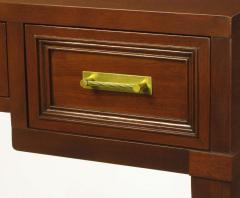 Fine Arts Furniture Co Fine Arts Furniture Co Elegant Mahogany Three Drawer Writing Table - 277388