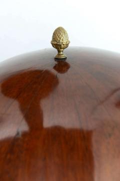 Fine Biedermeier Mahogany Ebonized and Parcel Gilt Globe Form Work Desk - 348803
