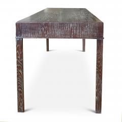 Fine Danish Art Deco Desk Console in Limed Oak - 1807296