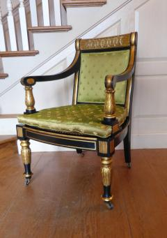 Fine English Regency Period Armchair - 56367
