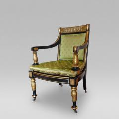 Fine English Regency Period Armchair - 56435