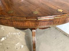 Fine English Regency Rosewood and Brass Inlaid Center Table - 1463515