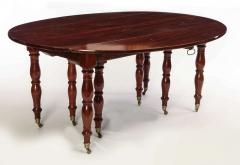 Fine French 18th Century Mahogany Extending Drop Leaf Dining Table - 634327
