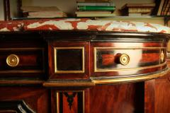 Fine French 19th Century Enfilade with Marble Top Royal Rouge of Languedoc - 636522