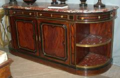 Fine French 19th Century Enfilade with Marble Top Royal Rouge of Languedoc - 636526