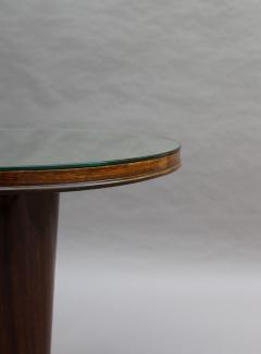 Fine French Art Deco Palisander Gueridon with a Mirrored Top - 2067065