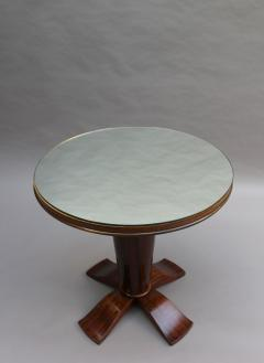 Fine French Art Deco Palisander Gueridon with a Mirrored Top - 2067074