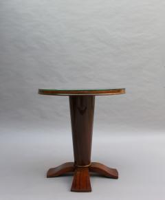 Fine French Art Deco Palisander Gueridon with a Mirrored Top - 2067078