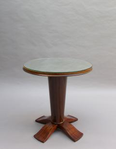 Fine French Art Deco Palisander Gueridon with a Mirrored Top - 2067085