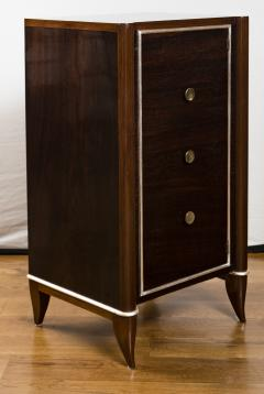 Fine French Art Deco Tall Cabinet Small Console Table - 1184511