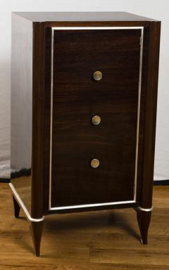 Fine French Art Deco Tall Cabinet Small Console Table - 1184512