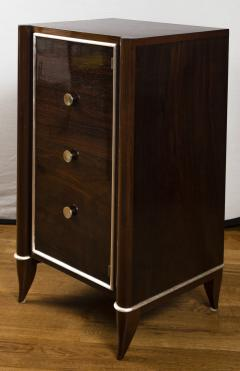 Fine French Art Deco Tall Cabinet Small Console Table - 1184513