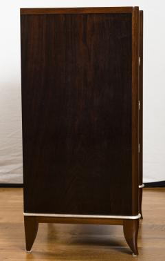 Fine French Art Deco Tall Cabinet Small Console Table - 1184530
