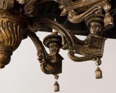Fine Italian Neoclassic Giltwood Eight Arm Chandelier Late 18th Century - 391182
