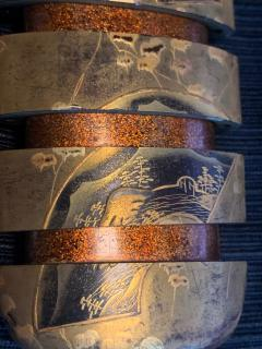 Fine Japanese Lacquered Inro by Yutokusai - 1671644