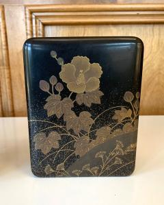 Fine Japanese Set of Lacquer Maki e Box and Tray with Meiji Period - 1615940