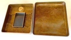 Fine Japanese Suzuribako Box with Storage Box and Provenance - 1618981