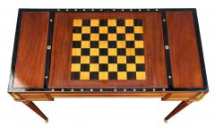 Fine Louis XVI Mahogany and Ormolu Mounted Tric Trac Table - 1521956