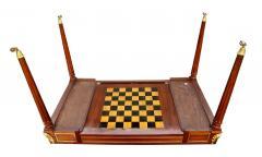 Fine Louis XVI Mahogany and Ormolu Mounted Tric Trac Table - 1521971
