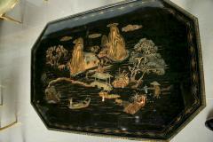 Fine Mahogany Parcel Gilt Chinoiserie Center Table - 390958
