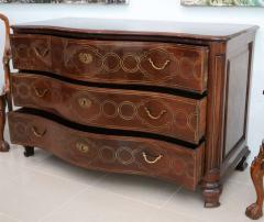 Fine Maltese Rosewood and Brass Inlaid Commode - 390535