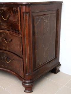 Fine Maltese Rosewood and Brass Inlaid Commode - 390540