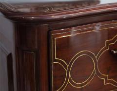 Fine Maltese Rosewood and Brass Inlaid Commode - 390542