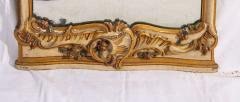 Fine Nord Italian 18th Century Painted Mirror - 636538