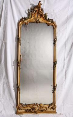Fine Nord Italian 18th Century Painted Mirror - 636539