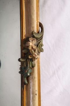 Fine Nord Italian 18th Century Painted Mirror - 636541