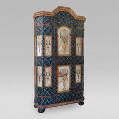 Fine Northern European Painted Armoire - 58954