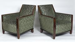 Fine Pair French Art Deco Bergeres - 1399374