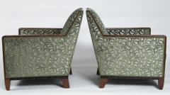 Fine Pair French Art Deco Bergeres - 1399376