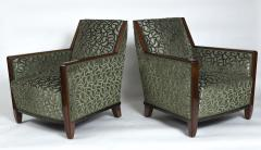 Fine Pair French Art Deco Bergeres - 1399377