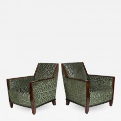 Fine Pair French Art Deco Bergeres - 1400214