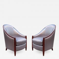 Fine Pair of Art Deco Bergeres - 560814