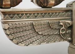 Fine Pair of Art Deco Silvered Bronze Five Light Candelabra - 364604