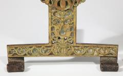 Fine Pair of English Arts Crafts Andirons - 1570101