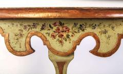 Fine Pair of Italian 18th Century Painted Console Tables with Pair of Mirrors - 632743