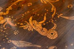Fine Pair of Italian Neoclassic Marquetry and Parquetry Inlaid Commodes - 388486