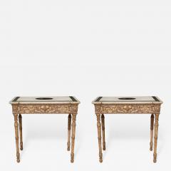 Fine Pair of Robert Adam Console Tables - 686566