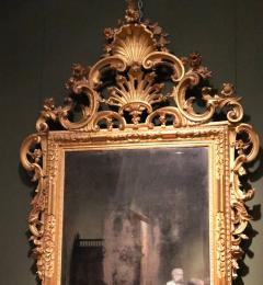 Fine Pair of Venetian Carved and Giltwood Mirrors Italy circa 1750 - 632559