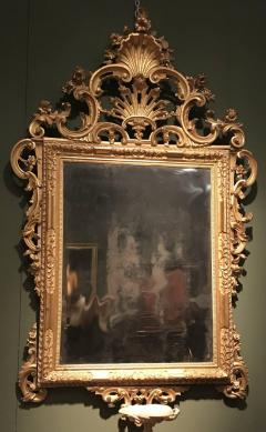Fine Pair of Venetian Carved and Giltwood Mirrors Italy circa 1750 - 632561