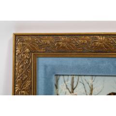 Fine Quality Antique Berlin K P M Hand Painted Porcelain Rectangular Plaque - 1217730