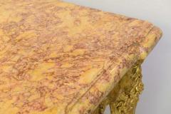 Fine Regence or Early Louis XV Giltwood and Marble Top Console Table - 40517